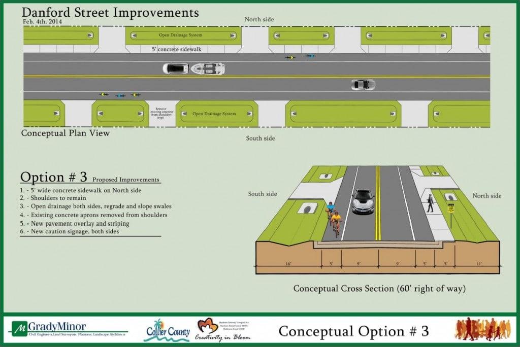 Danford Street Conceptual Option 3