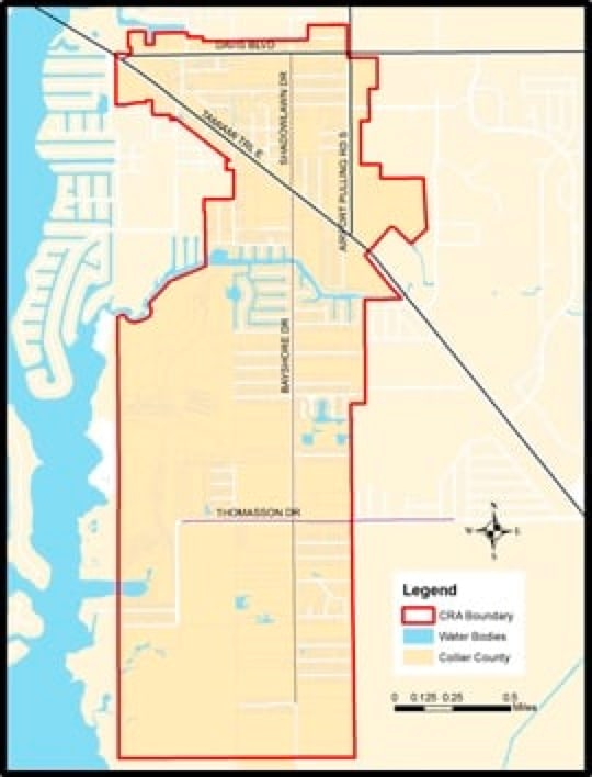 Map of Bayshore Gateway Triangle
