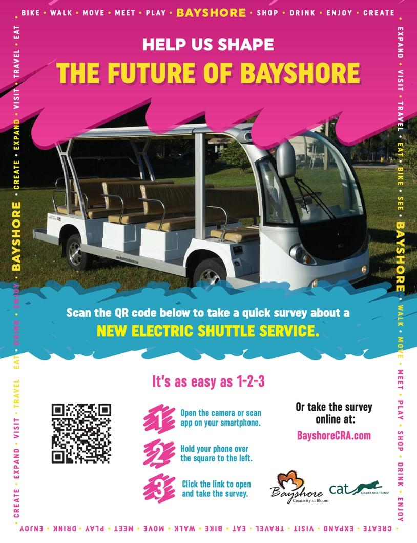 Bayshore Shuttle Survey Graphic